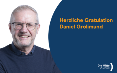 Herzliche Gratulation Daniel Grolimund